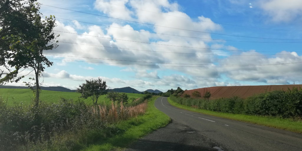 Анна Рейн по Шотландии