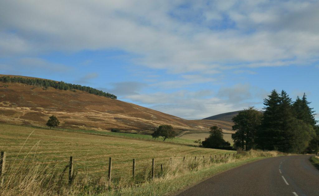 на авто по Шотландии