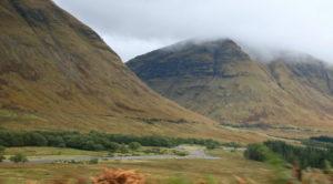Шотландия трасса А 82