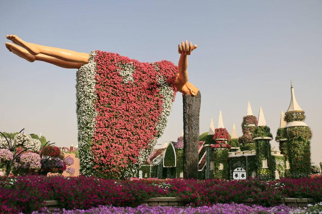 Парк цветов Dubai Miracle Garden