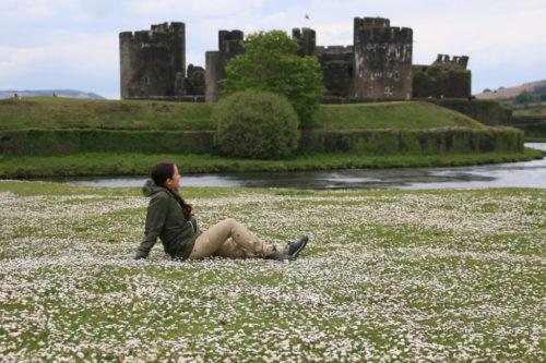 Замок Кэрфилли Caerphilly Castle
