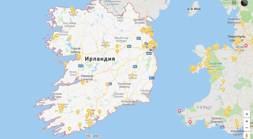 Автопутешествие по Ирландии в марте